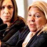 Buenos Aires. Vidal y Carrió acusaron de Traidores a los Intendentes que piden el corte de Boleta.