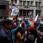 Internacionales. Repudio de Todos los Sectores Populares al Golpe de Estado en Bolivia.