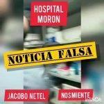 Jacobo Netel a Propósito de las Noticias Falsas sobre el Hospital de Morón: «La Gente le cree a Lucas y, la Verdad, si hicieron esta Movida para desprestigiarnos,  lograron el Efecto Contrario…»