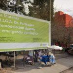 La Matanza. Avanzan las obras en el Hospital Paroissien con el impulso del Gobierno Bonaerense.