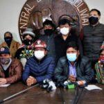 Bolivia. Central Obrera advierte sobre una Nueva Masacre del Régimen de Añez.