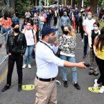 Chile: Largas filas y estrictas Medidas Sanitarias marcan el Histórico Plebiscito.