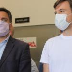 Morón. El Intendente Ghi y el Ministro Cabandié visitaron la Planta de Residuos Patológicos del Hospital Posadas.