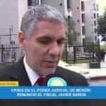 Morón. Polémica renuncia de un Fiscal. El Procurador General Julio Conte Grand deja ir a un Académico de Renombre.
