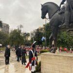 Diplomacia de los Pueblos. La Embajada de Venezuela celebró el Bicentenario de la Batalla de Carabobo en Parque Rivadavia.